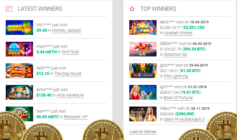 Online bitcoin casino no deposit bonus keep what you win canada
