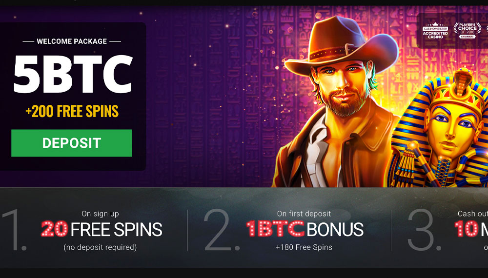Top online bitcoin casino offers