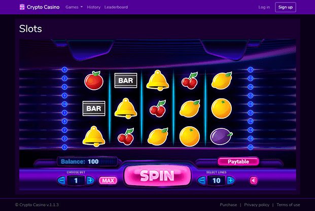 Real money bitcoin casino bitcoin slot machines