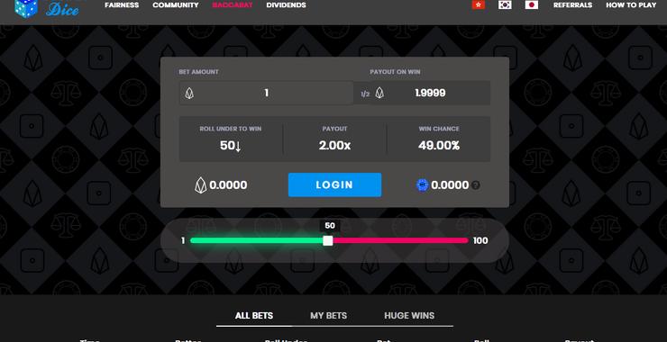 Bitcoin gambling lucky
